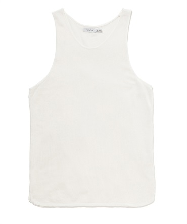 DWELLER TANK TOP COTTON MESH OVERDYED 【 nonnative / ノンネイティブ 】