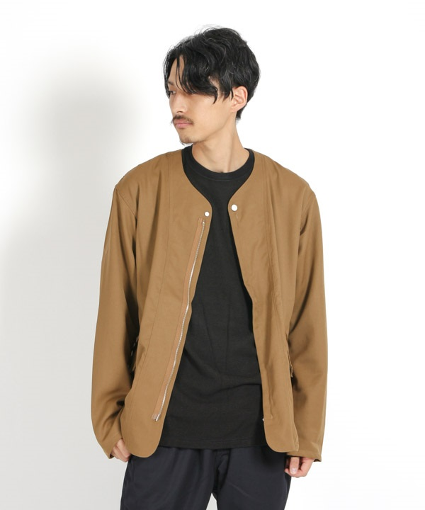 SOLDIER JACKET WOOL TWILL 【nonnative / ノンネイティブ】(ベージュ-1)