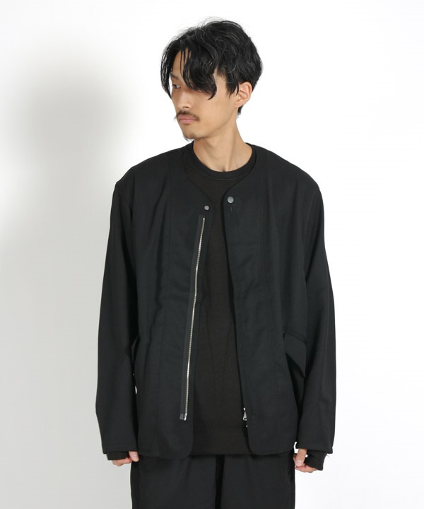 SOLDIER JACKET WOOL TWILL 【nonnative / ノンネイティブ】(ブラック-1)