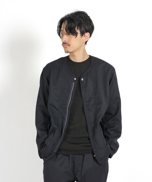 SOLDIER JACKET WOOL TWILL 【nonnative / ノンネイティブ】(ネイビー-1)