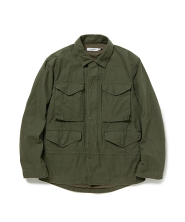 TROOPER JACKET COTTON BACK SATIN 【 nonnative / ノンネイティブ 】