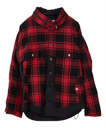 FELLER JACKET W/P/A/N BUFFALO PLAID 【nonnative / ノンネイティブ】■SALE■
