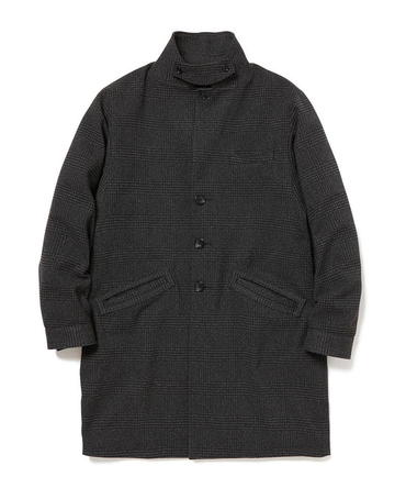 PORTER COAT POLY TWEED GLEN PLAID WITH GORE-TEX INFINIUMR 【 nonnative / ノンネイティブ 】