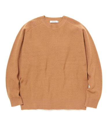 OFFICER SWEATER W/P YARN【nonnative / ノンネイティブ】