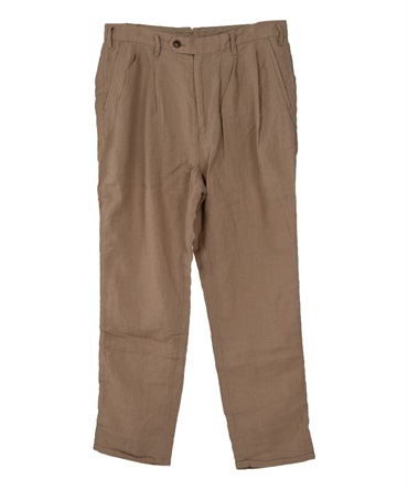TRAVELER ANKLE CUT SLACKS LINEN RIPSTOP 【 nonnative / ノンネイティブ 】■SALE■