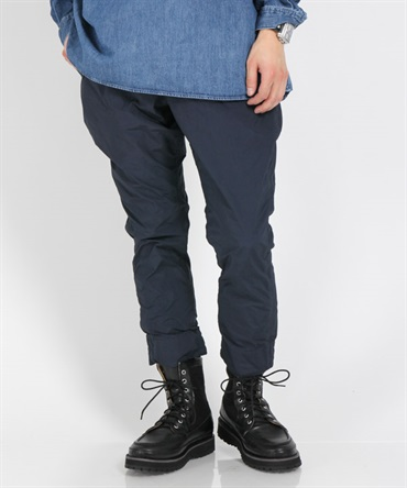 COMMANDER EASY RIB ANKLE CUT PANTS P/N WEATHER【nonnative / ノンネイティブ】■SALE■