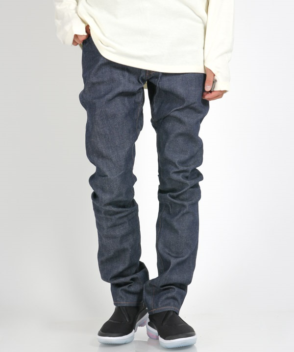 DWELLER 5P JEANS USUAL FIT COTTON 12.5oz SELVEDGE DENIM NW【nonnative / ノンネイティブ】(インディゴ-0)