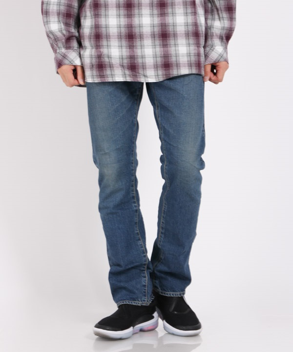 DWELLER 5P JEANS USUAL FIT COTTON 12.5oz SELVEDGE DENIM VW【nonnative / ノンネイティブ】(インディゴ-1)