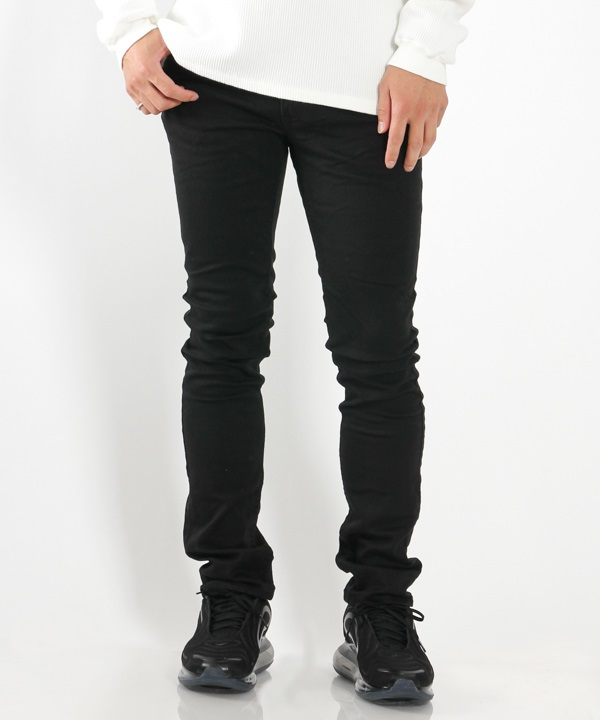 DWELLER 4P JEANS TAPERED FIT C/P KATSURAGI STRETCH【nonnative / ノンネイティブ】(ブラック-1)