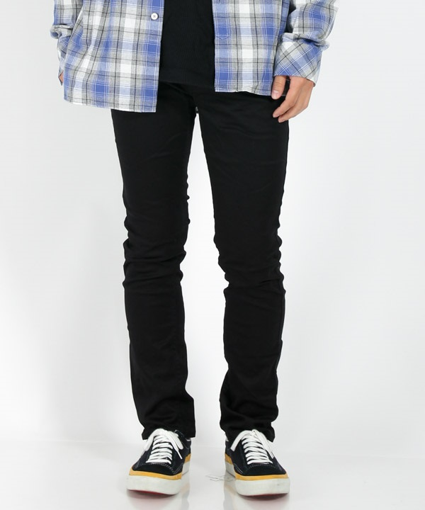 DWELLER 4P JEANS TAPERED FIT C/P WEAPON CLOTH STRETCH 【 nonnative / ノンネイティブ】(ブラック-1)