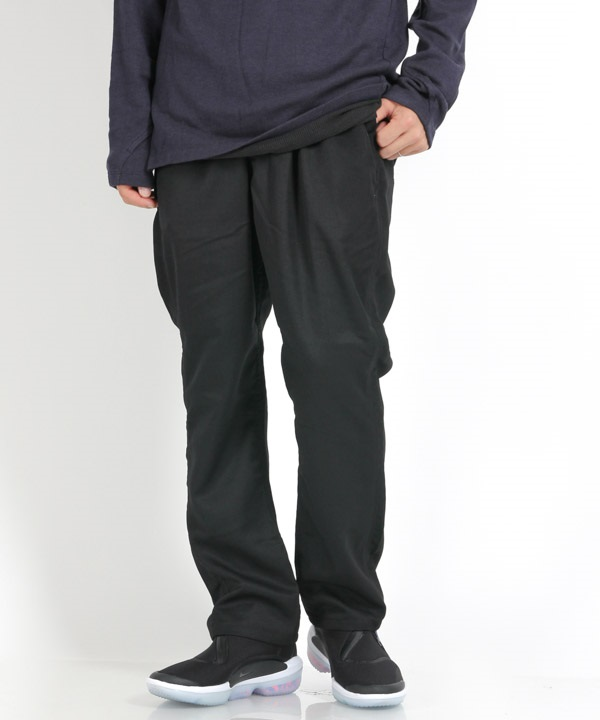 DWELLER EASY PANTS RELAX FIT WOOL TWILL 【nonnative / ノンネイティブ】(ブラック-0)