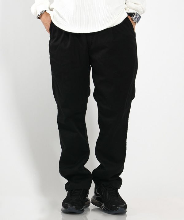 DWELLER EASY PANTS RELAX FIT C/P/P CHINO STRETCH【nonnative / ノンネイティブ】(ブラック-1)