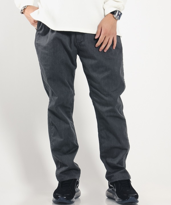 DWELLER EASY PANTS RELAX FIT C/P/P CHINO STRETCH【nonnative / ノンネイティブ】(グレー-1)