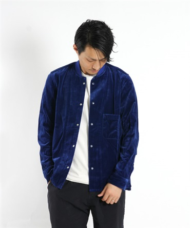 【nonnative】 TRAINER SHIRT C/R VELVET