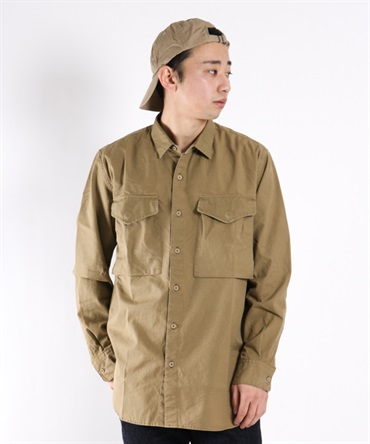 HUNTER LONG SHIRT COTTON RIPSTOP 【nonnative / ノンネイティブ】■SALE■