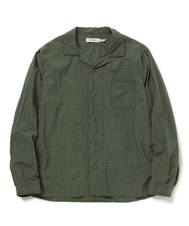 BOWLER SHIRT COTTON TYPEWRITER 【 nonnative / ノンネイティブ 】