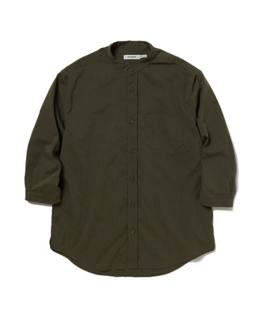 OFFICER SHIRT Q/S RELAXED FIT P/L WEATHER STRETCH COOLMAX® 【 nonnative / ノンネイティブ 】