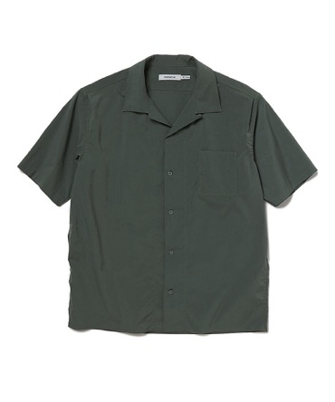 BOWLER SHIRT S/S POLY WEATHER STRETCH COOLMAXR 【 nonnative / ノンネイティブ 】■SALE■