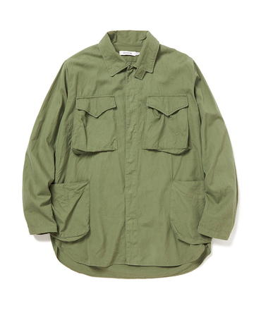 HUNTER SHIRT JACKET COTTON RIPSTOP【nonnative / ノンネイティブ】