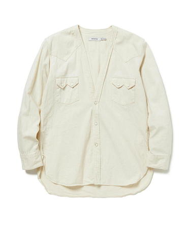 RANCHER SHIRT JACKET COTTON 8oz DENIM OW 【 nonnative / ノンネイティブ 】■SALE■