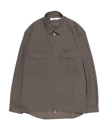 EXPLORER SHIRT JACKET POLY TWILL Pliantex® 【 nonnative / ノンネイティブ 】