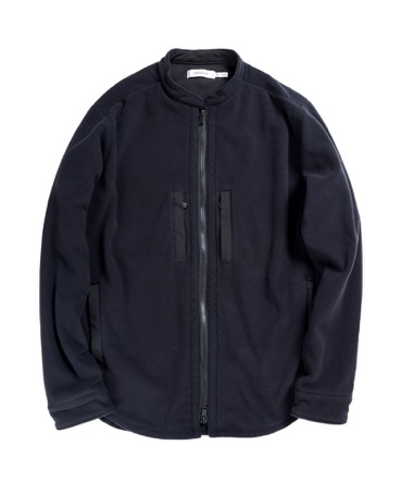 HIKER SHIRT JACKET POLY FLEECE POLARTEC® WITH POLY TWILL Pliantex® 【 nonnative / ノンネイティブ 】
