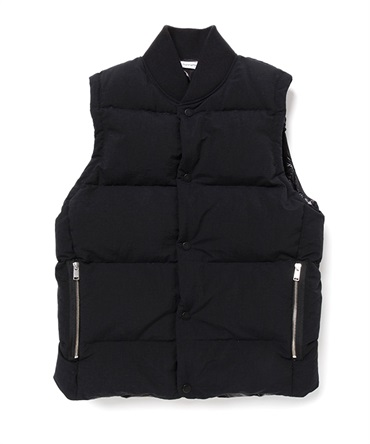 HIKER DOWN VEST NYLON TUSSAH【nonnative / ノンネイティブ】