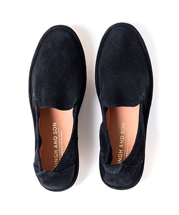 KISHTEE SLIP ON DOUBLE CREPE SOLE 【 SINGH AND SON / シンアンドサン 】