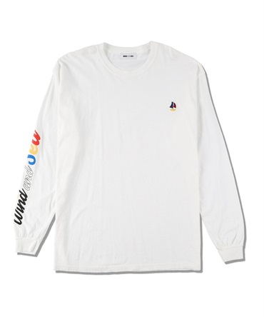 WDS(sail-boat) L/S T-SHIRT 【 WIND AND SEA / ウィンダンシー 】
