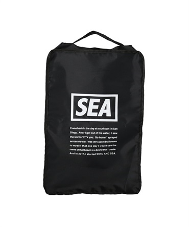 WDS TRAVEL POUCH (LARGE) 【 WIND AND SEA / ウィンダンシー 】