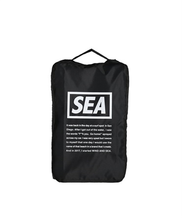 WDS TRAVEL POUCH (MEDIUM) 【 WIND AND SEA / ウィンダンシー 】