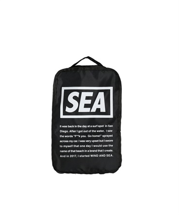 WDS TRAVEL POUCH (SMALL) 【 WIND AND SEA / ウィンダンシー 】