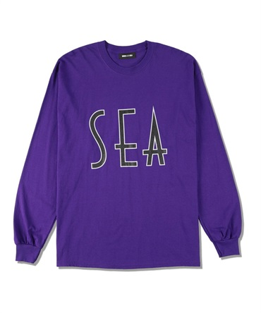 SEA (wavy) L/S T-SHIRT 【 WIND AND SEA / ウィンダンシー 】