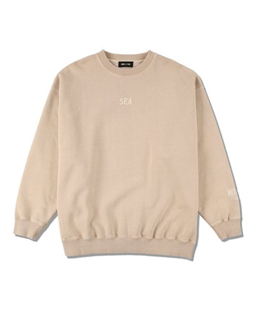 SEA (pigment-dye) SWEATSHIRT 【 WIND AND SEA / ウィンダンシー 】