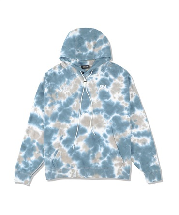 SEA (tie-dye) HOODIE 【 WIND AND SEA / ウィンダンシー 】