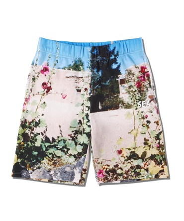 WDS PHOTO SWEAT SHORTS 【 WIND AND SEA / ウィンダンシー 】