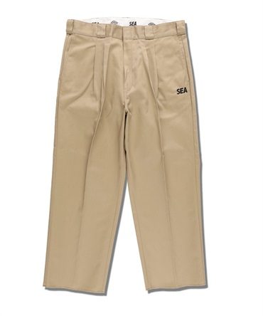 WDS × DICKIES 2TUCK TROUSERS 【 WIND AND SEA / ウィンダンシー 】