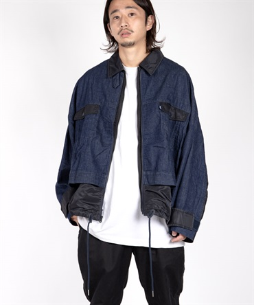 WM x LMC DOUBLE ZIP BLOUSON 【 White Mountaineering / ホワイトマウンテニアリング 】■SALE■