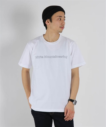 PRINTED T-SHIRT 'WHITE MOUNTAINEERING' プリントTシャツ【White Mountaineering / ホワイトマウンテニアリング】