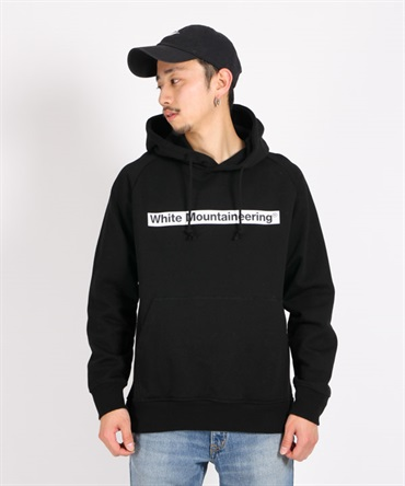 WM LOGO PRINTED HOODIE プリントフーディー 【White Mountaineering / ホワイトマウンテニアリング】
