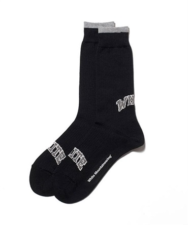 WM LOGO MIDDLE SOCKS【White Mountaineering / ホワイトマウンテニアリング】■SALE■