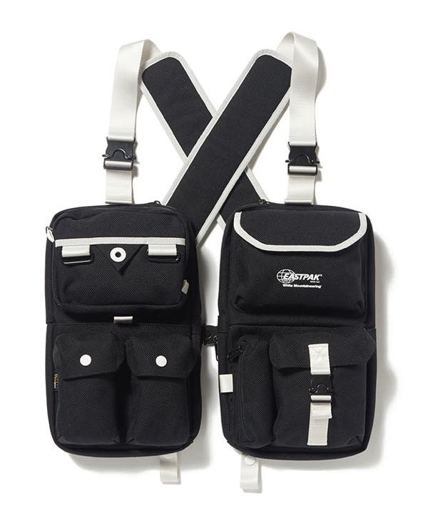 WM x EASTPAK MULTI POCKET VEST BAG【White Mountaineering / ホワイトマウンテニアリング】■SALE■(ブラック-F)