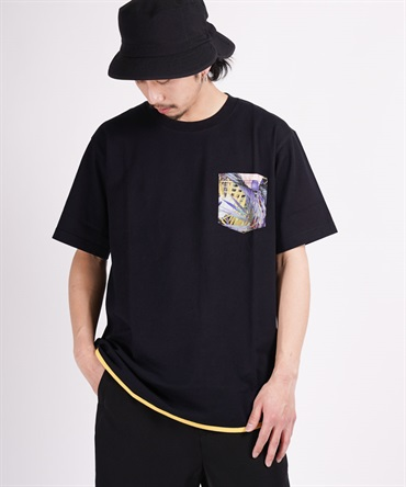BOTANICAL PRINTED POCKET T-SHIRT 【 White Mountaineering / ホワイトマウンテニアリング 】■SALE■