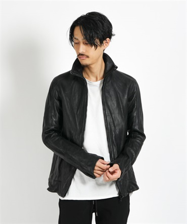 LEATHER TRACK JACKET レザートラックジャケット 【CIVILIZED / シヴィライズド】