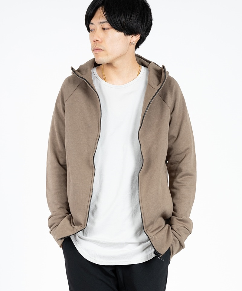 ZIP UP TECH PARKA ジップアップ テック パーカ【CIVILIZED / シヴィライズド】