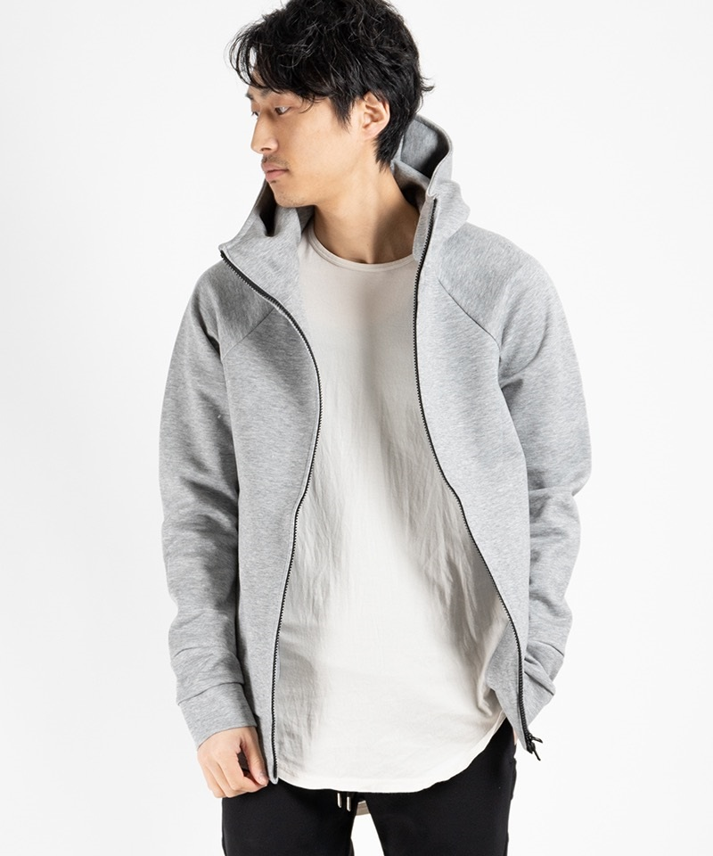 ZIP UP TECH PARKA ジップアップ テック パーカ【CIVILIZED / シヴィライズド】(チャコール-2)