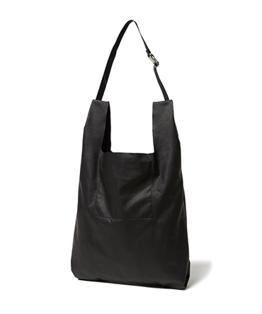 Waterproof Leather Carrier Bag ウォータープルーフ レザー キャリー バッグ【hobo / ホーボー】■SALE■