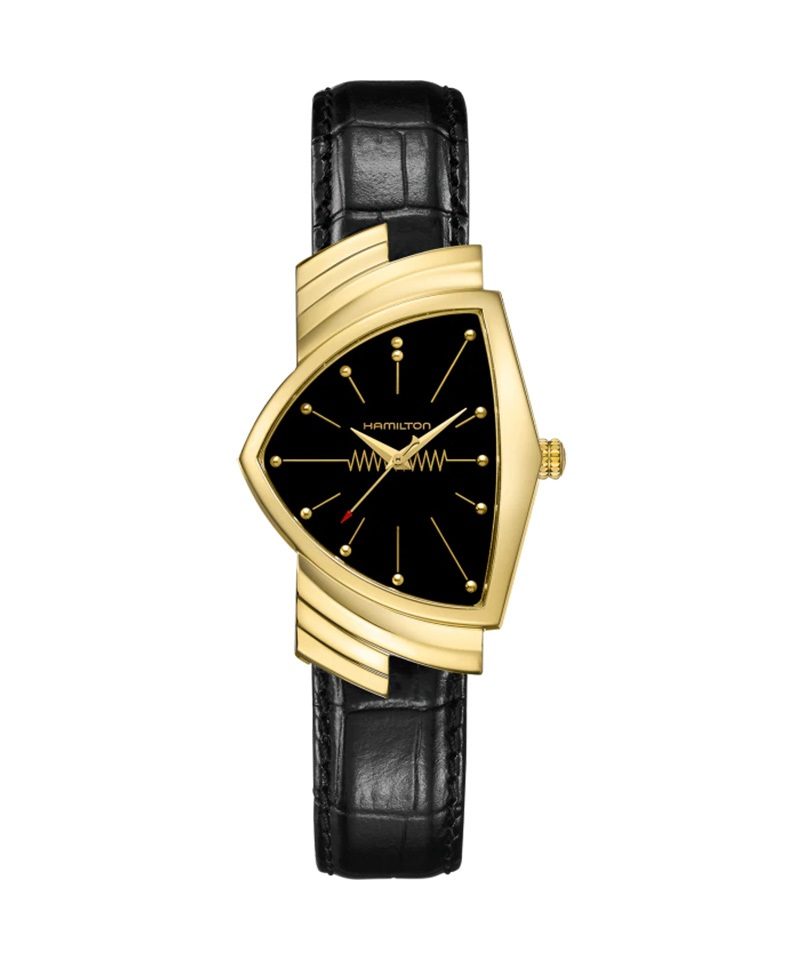 wholesale dealer cf9f0 600dd ハミルトン 腕時計 ベンチュラ ベンチュラ メンズ レザー ...